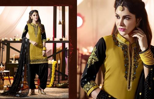 Cotton Work Salawar Suit