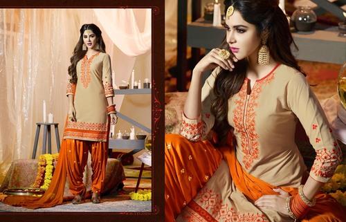 Patiyala Cotton Salwar Suit