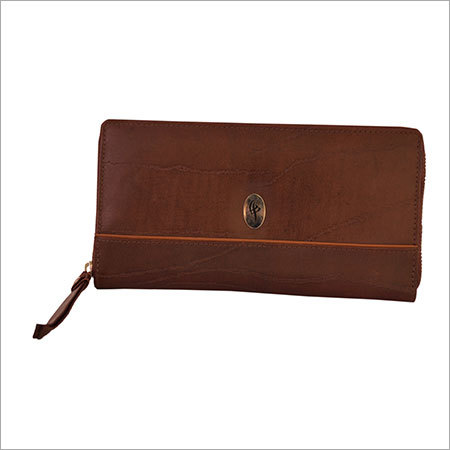 Branded Leather Clutches
