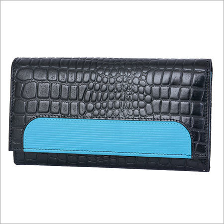 Croco Leather Ladies Clutches