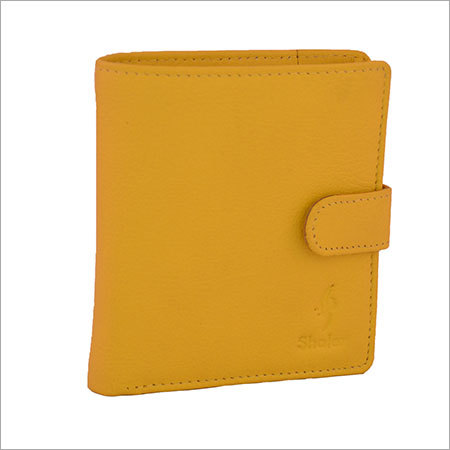 Fine Yellow Leather Wallets