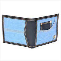Jeans Upper Leather Wallets