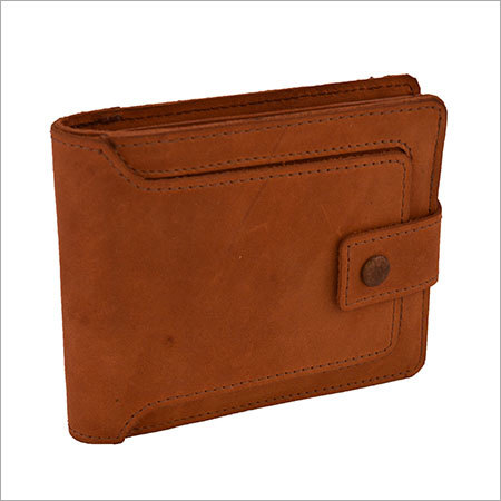 Leather Fancy Brown Wallets