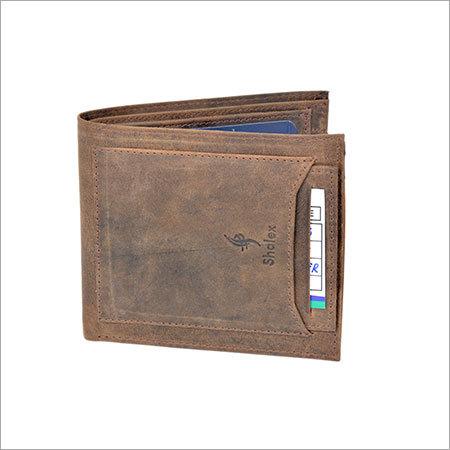 Leather Upper Pocket Wallet