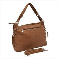 Brown Leather Ladies Bags