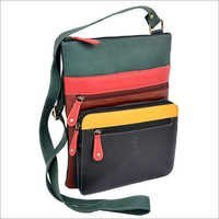 Multicolour Leather Side Bags