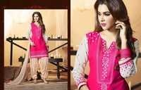 Cotton Patiyala Dress Material