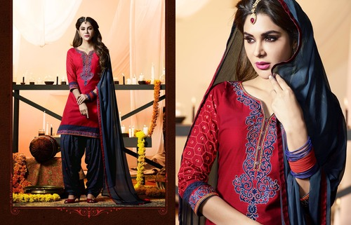 Fancy Patiyala  Dress Material