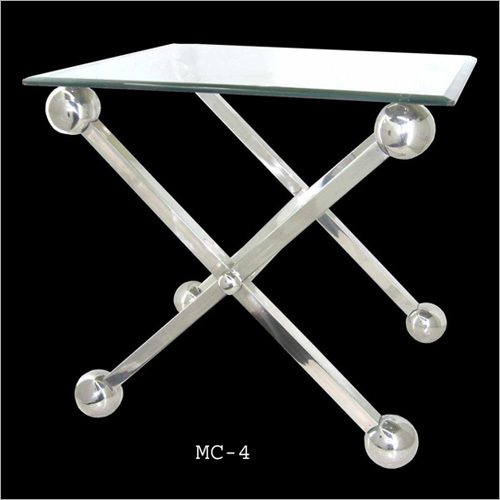 Dot Feet Steel Table