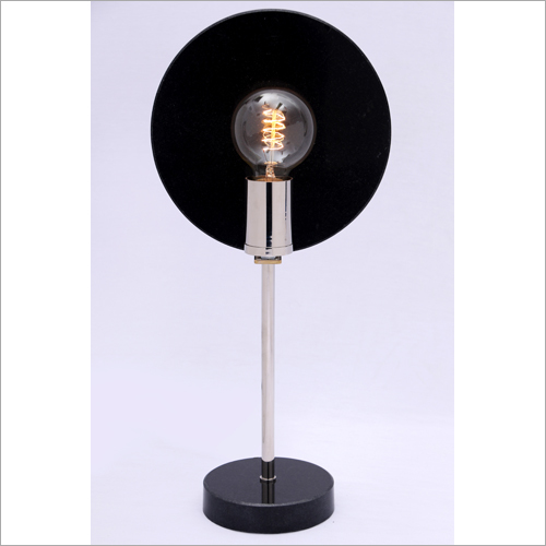 Marble Metal Table Lamp