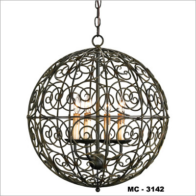 Spherical Pendant Lamp
