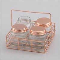 Wire Jar Stand