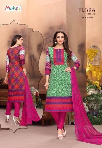 Printed Cotton Salawar Kameez