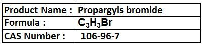 Propargyls bromide