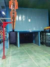 Camel Back Type Curing Oven