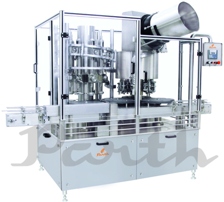 Rotary Volumetric Filling & Sealing Machine