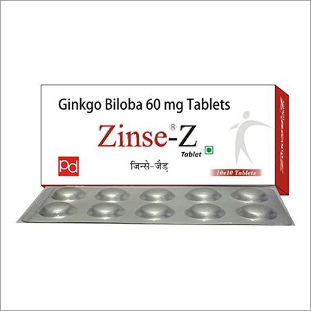 Ginko Biloba 60MG Tablet