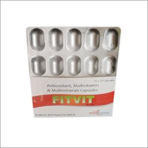 Anti Oxidant, Multi Vitamin, Multimineral & Zinc Capsule
