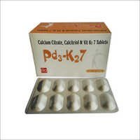 Calcium Citrate, Calcitriol With Vit K2
