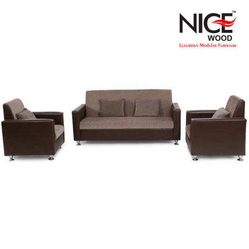 Office Fabric Leather Sofa