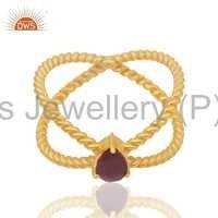 Natural Ruby Gemstone Ring Supplier