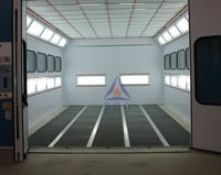 Bottom Draft Paint Booth