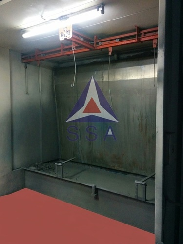 Water Wall Paint Booth