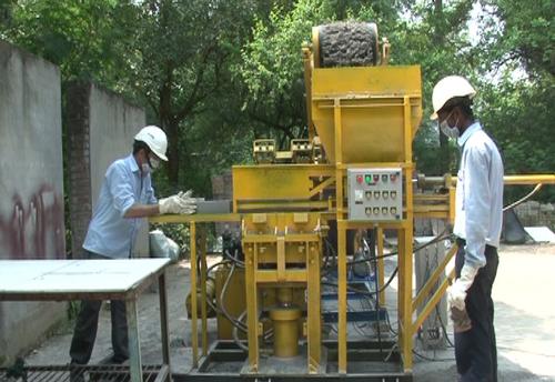 Automatic Fly ash block making machine