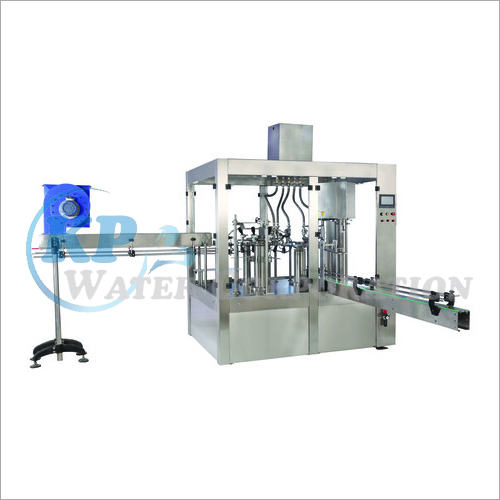 Bottle Rising-Filling-Capping Machine