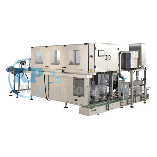 Jar Rinsing Filling And Capping Machine