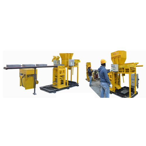 Semi Automatic Fly Ach Brick Making Machine