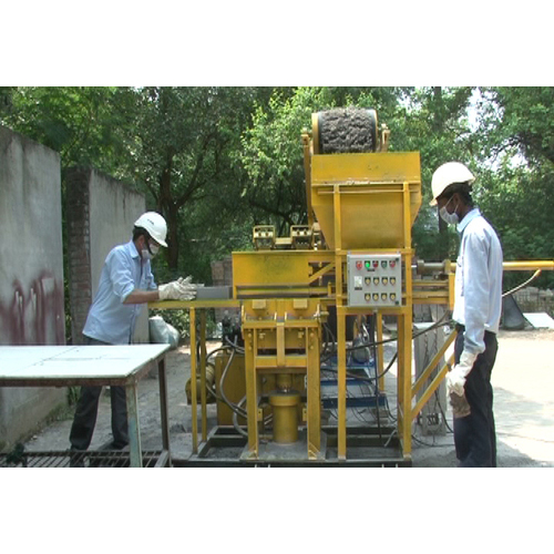 Concret Block Making Machine