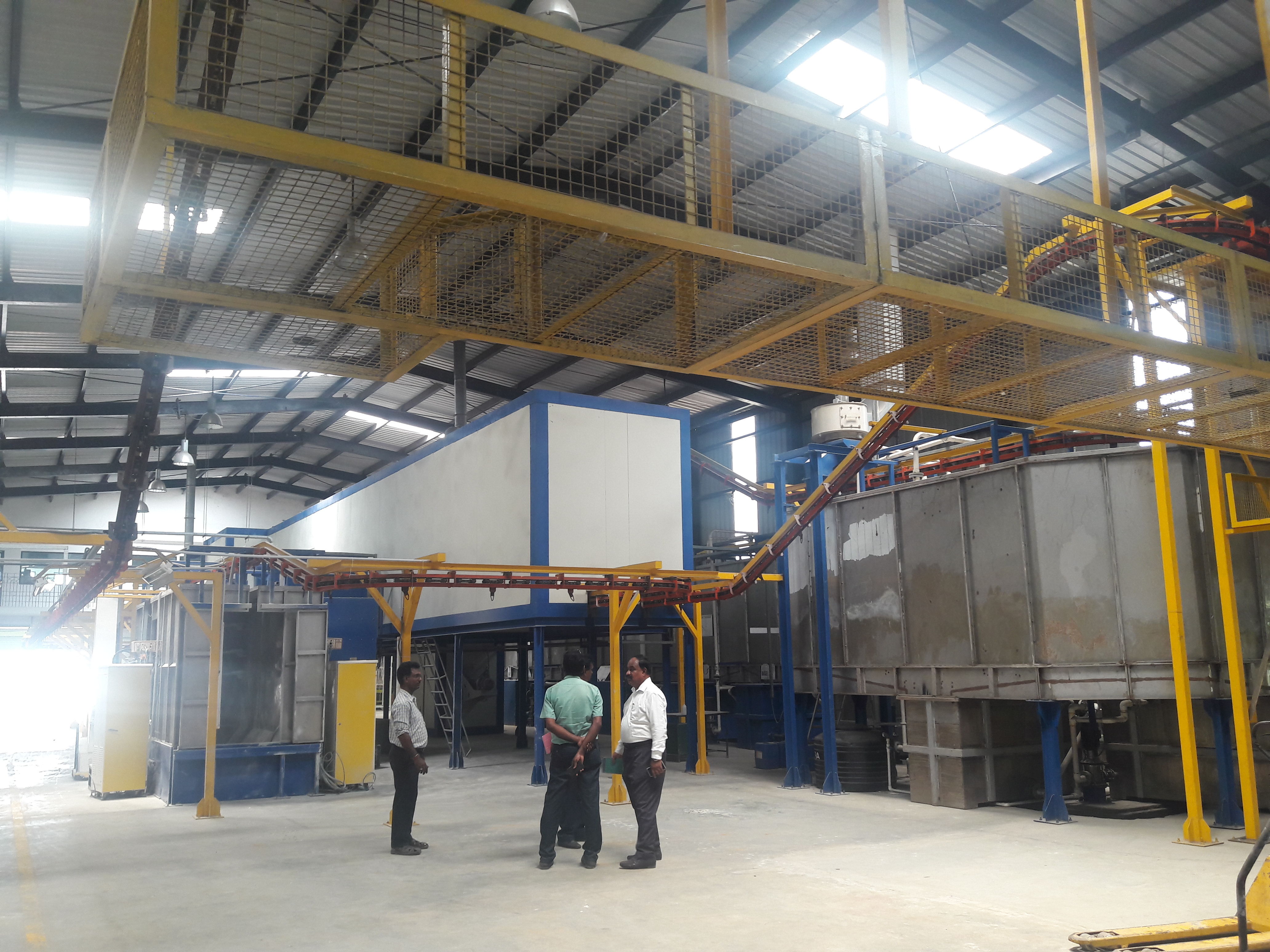 Fully Automatic Powder Coating Plant Supplier,Distributor and