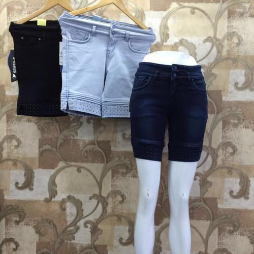 Ladies Jeans Shorts