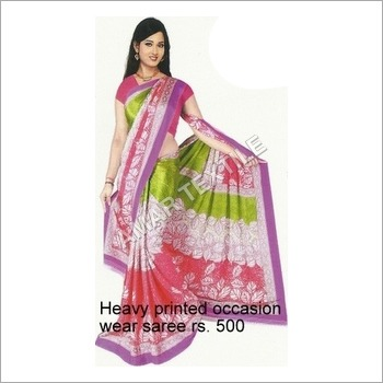 Printed Exclusive Sarees