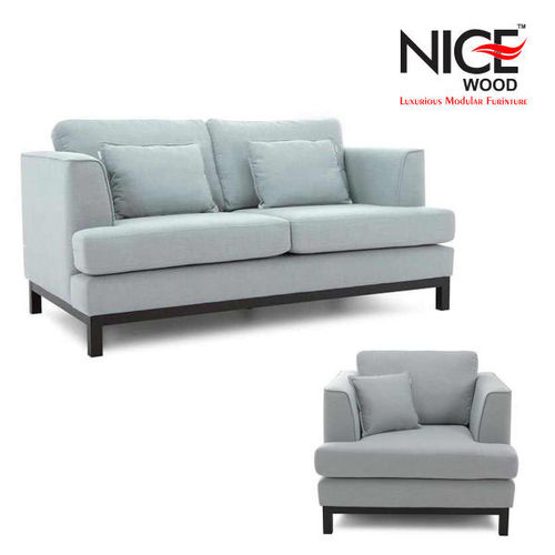 Suede Grey Sofa