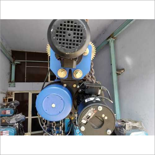 Industrial Motorized Chain Pulley Block