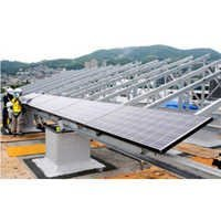 Solar Power Plant Structure