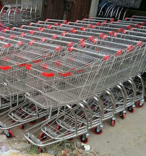 SS Folding Shopping Trolley