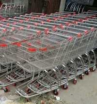 SS Folding Shopping Trolley