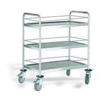 Steel Food Serving Trolley