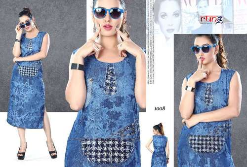 Denim Ladies Kurtis