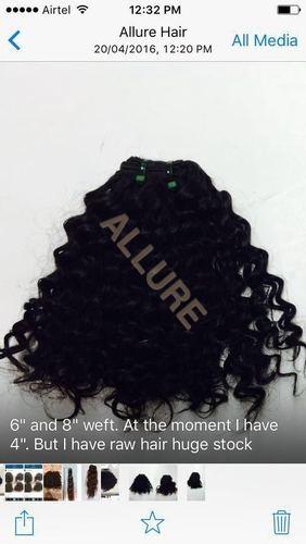 Keratin Natural Flat Tip Hair