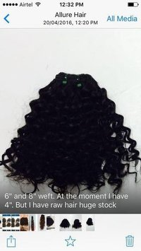 Keratin Natural Flat Tip Hair