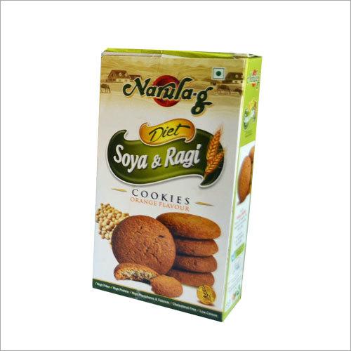 Soya Ragi Cookies