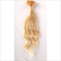 Keratin Blonde Flat Tip Hair