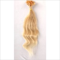 Keratin Blonde Flat Tip Hair