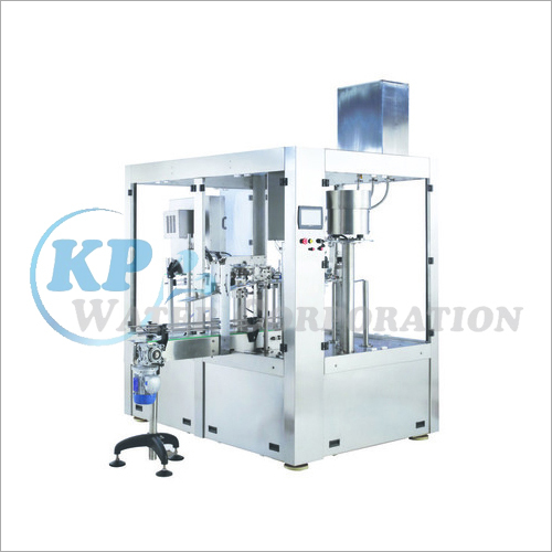 Automatic Bottle Rising Filling Capping Machine