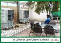 Air cooler for open Outdoor Cafeteria