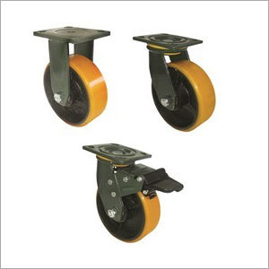 Polyurethane Wheel with Double Ball Bearing